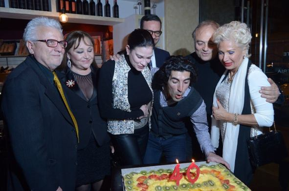 Compleanno Fabrizio Pacifici da  CasaGusto-The Snob
