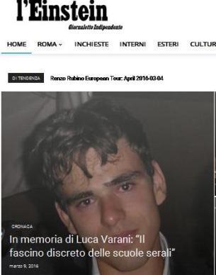 LUCA VARANI EINSTEIN