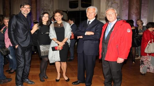 Beppe convertini, Elena Parmegiani, Sig.ra Castelli, Gaetano Castelli