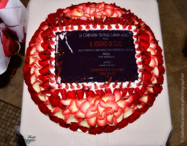 torta con invito