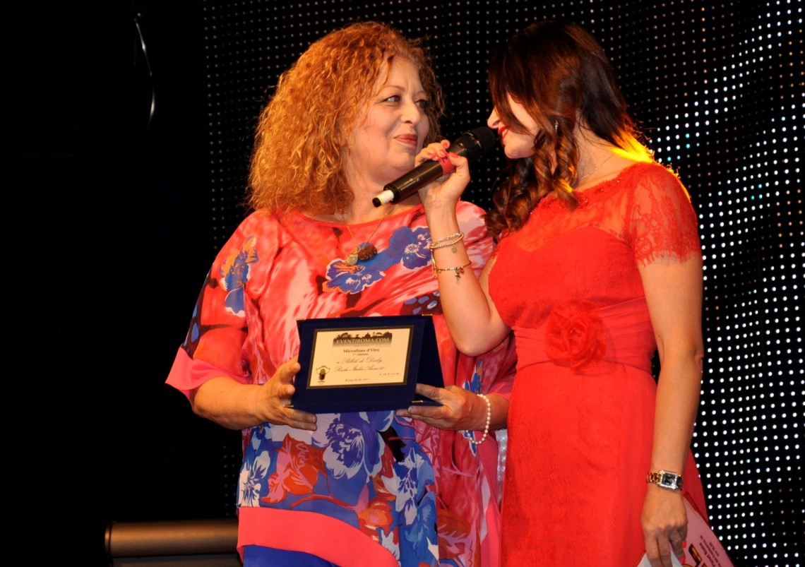 MARINA PENNAFINA-COSETTA TURCO-microfono d'oro