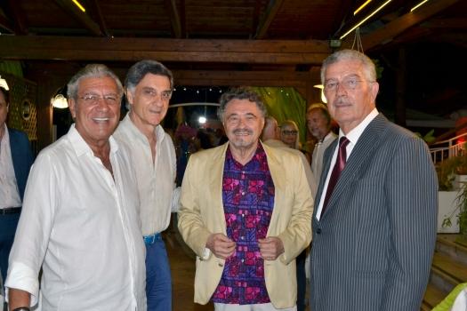 Da sx_ Franco Micalizzi_Marco Tullio Barboni_Giovanni Brusatori_Luciano Bruschini