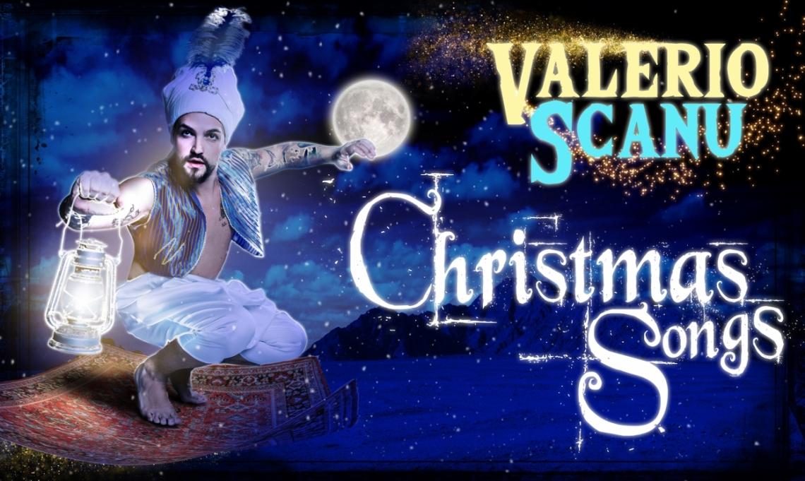 Locandina VALERIO SCANU_CHRISTMAS SONGS