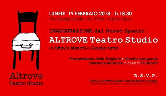 INVITO - Altrove Teatro Studio