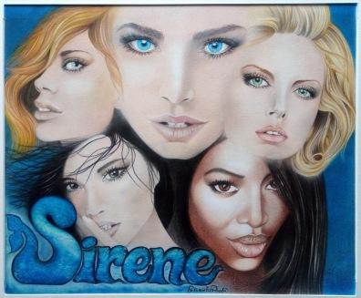 La copertina del CD Sirene di Franco Micalizzi