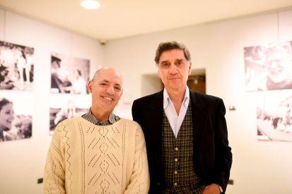 Marco Tullio Barboni con il critico Plinio Perilli