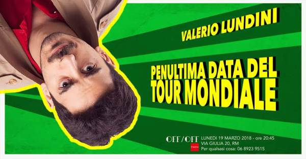 Valerio Lundini offofftheatre_flyer