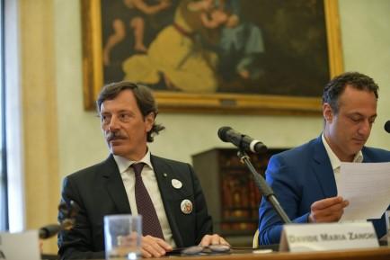 Presidente Zanchi e Marcello De Vito (Copia)