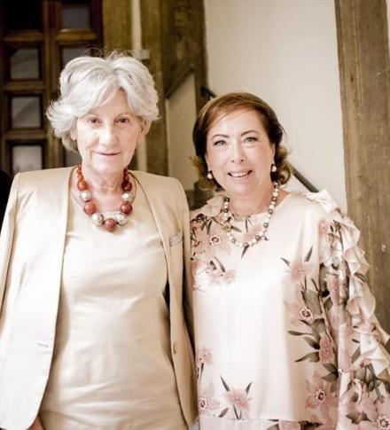 Da sx Flavia Piccoli Nardelli e Rita Caccamo