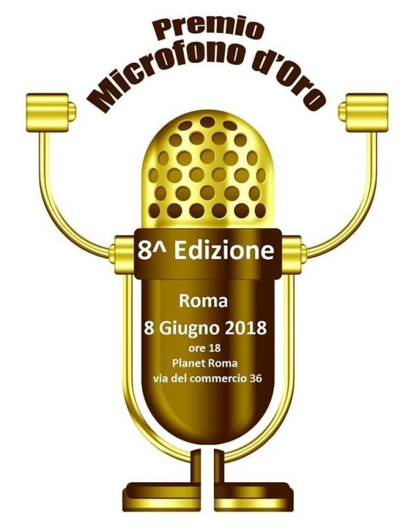 MICROFONO D'ORO 2018 Fabrizio Pacifici