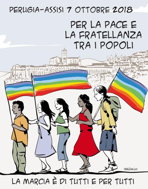 Logo Marcia Perugia-Assisi 2018