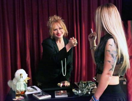 Luciana Frazzetto con Magda Lys