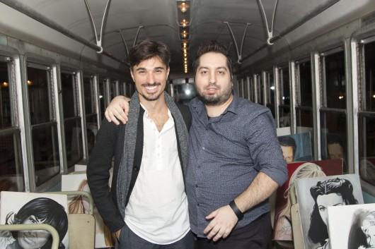 Dive On Tram Sebastian Maulucci (regista) & Daniele Pacchiarotti foto by Antonello Ariele Martone (20)