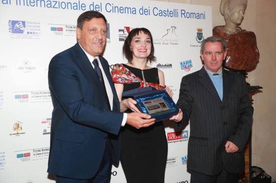 MARCO DI STEFANO-ANGELIQUE CAVALLARI-IL SINDACO DI ARICCIA ROBERTO DI FELICE
