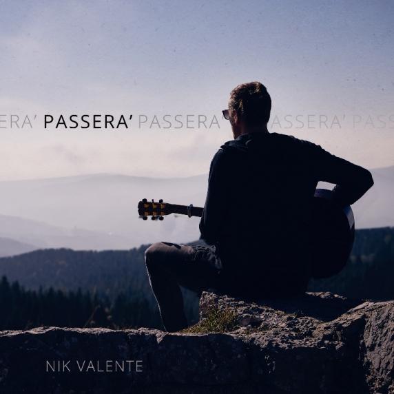 2018_Cover singolo_Passerà_Nik Valente d