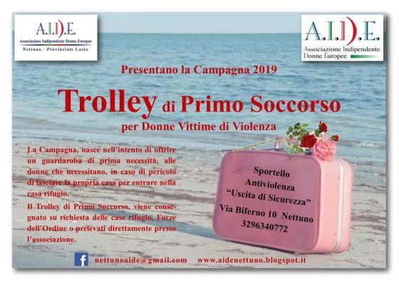 Aide Trolley primo soccorso