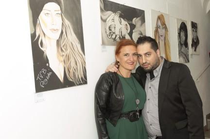 Fashion Moda Arte Luxury-Pacchiarotti con Sara Lauricella giornalista