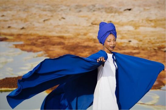 Fatoumata Diawara2 @ Aida Muluneh