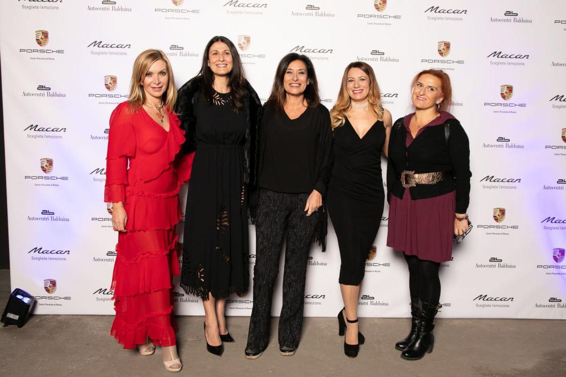 Antonietta di Vizia, Monica Mattei, Maria Cristina Bigongiali, Elenia Scarsella, Sara Lauricella