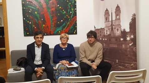 cristiano Arni,Lucia Granati e Michele La Ginestra
