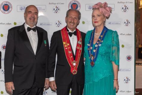 Cristina Egger il Dr Zanghi e il Conte Uva
