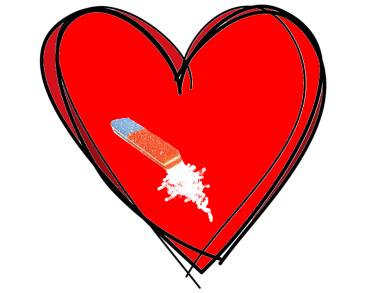 cuore gomma