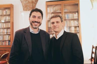 I titolari di Fattore Alfa_da sx Andrea Starace e Federico Susani (Medium)