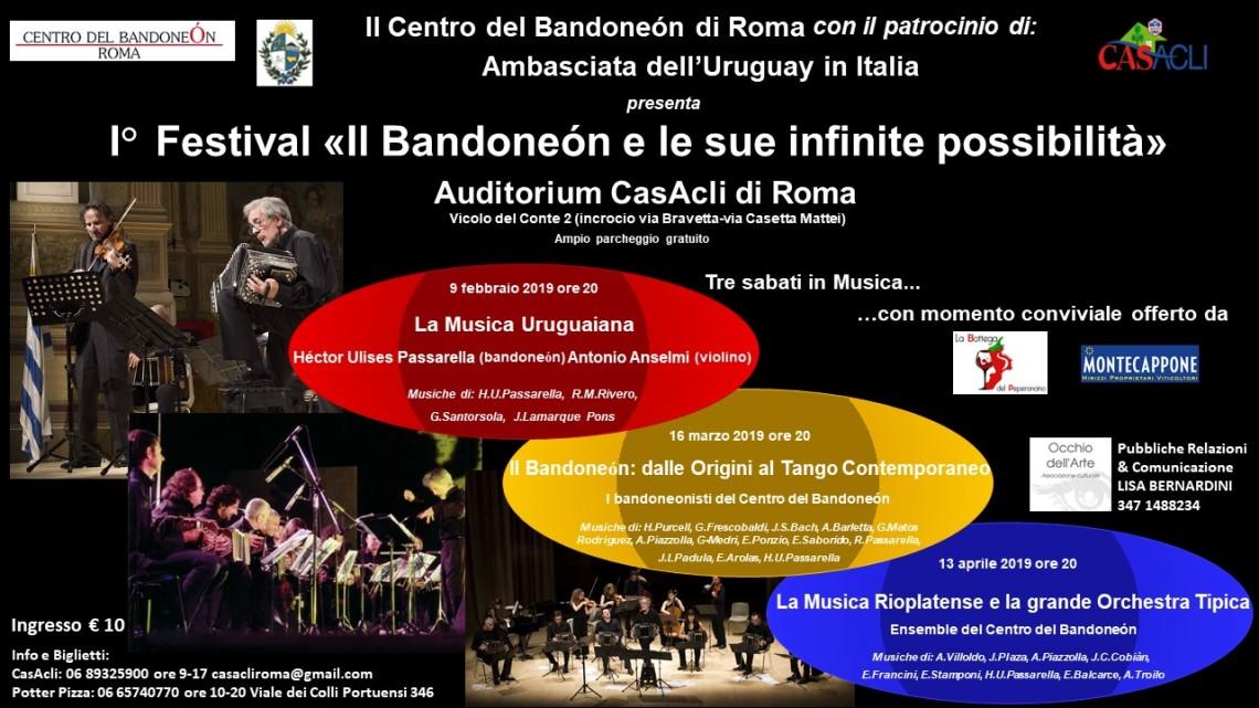 locandina Festival Il Bandoneon e le sue infinite possibilità