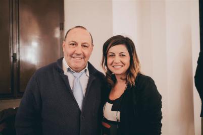Mauro Boccuccia con Lisa Bernardini (Medium)