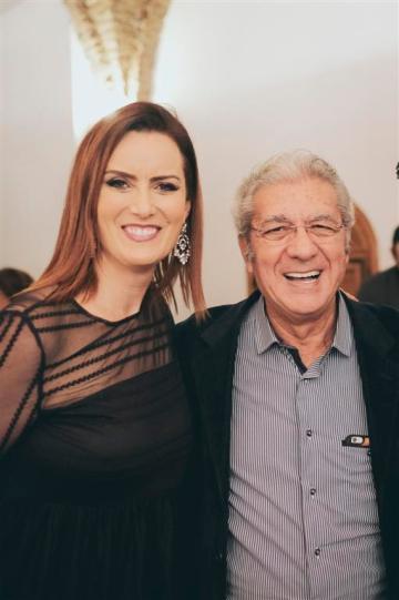 Valentina Ducros con Franco Micalizzi