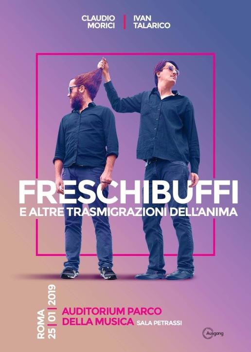 25 gennaio_locandina_morici_talarico_freschi buffi_auditorium