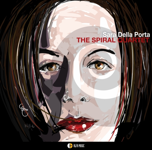 cover sara della porta_the spiral quartet