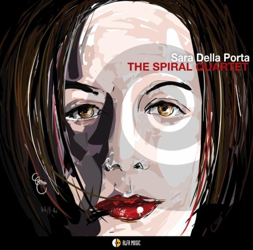 cover sara della porta_the spiral quartet