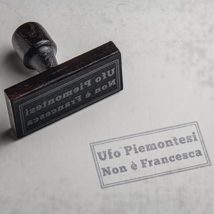ufo piemontesi - non è francesca - cover