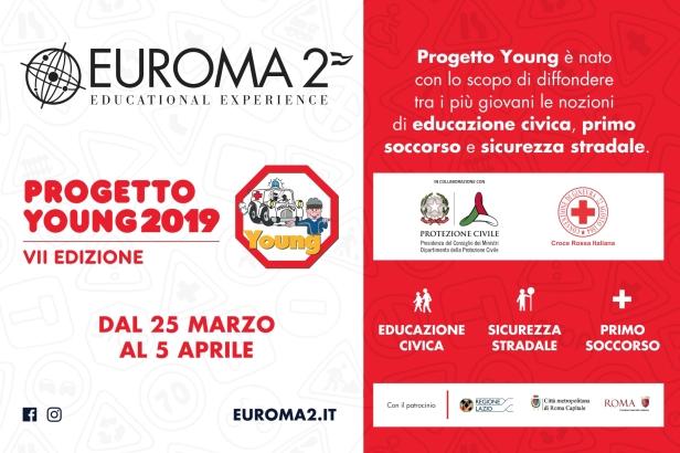 Locandina Progetto Young 2019