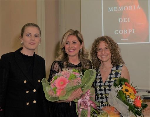 Da sx Ludovica Rocchi, Marina Di Guardo, Barbara Donarini - Ph. Paolo Specchioli