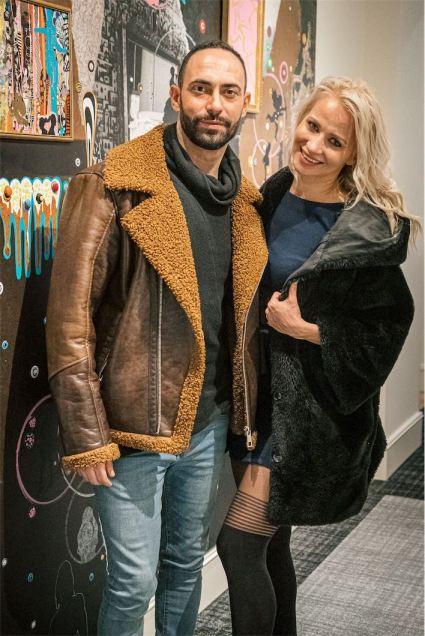 Stefano Oradei e Veera Kinnunen