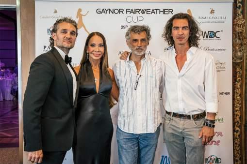 Da sx Mirko Saccani, Gaynor Fairweather, Enrico Lo Verso, Branko Tesanovic - Ph. Matteo Pizzi-min