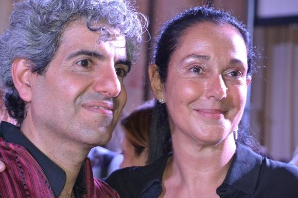 Jamal Taslaq e Rita Leo Valentini (Pres. Mondo Solidale Onlus) ph. A. Apolito