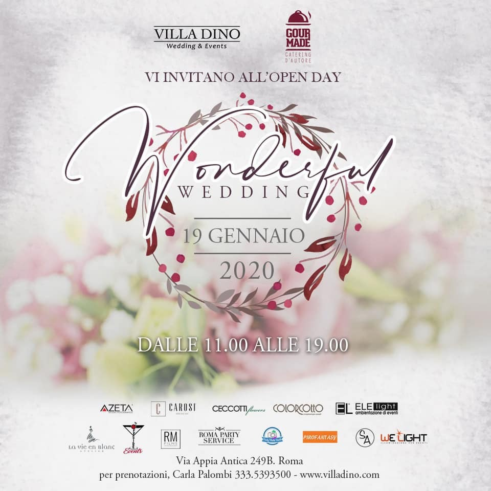 Invito Wonderful Wedding